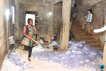 Lagos state govt seals up 30 unhealthy sachet water factories